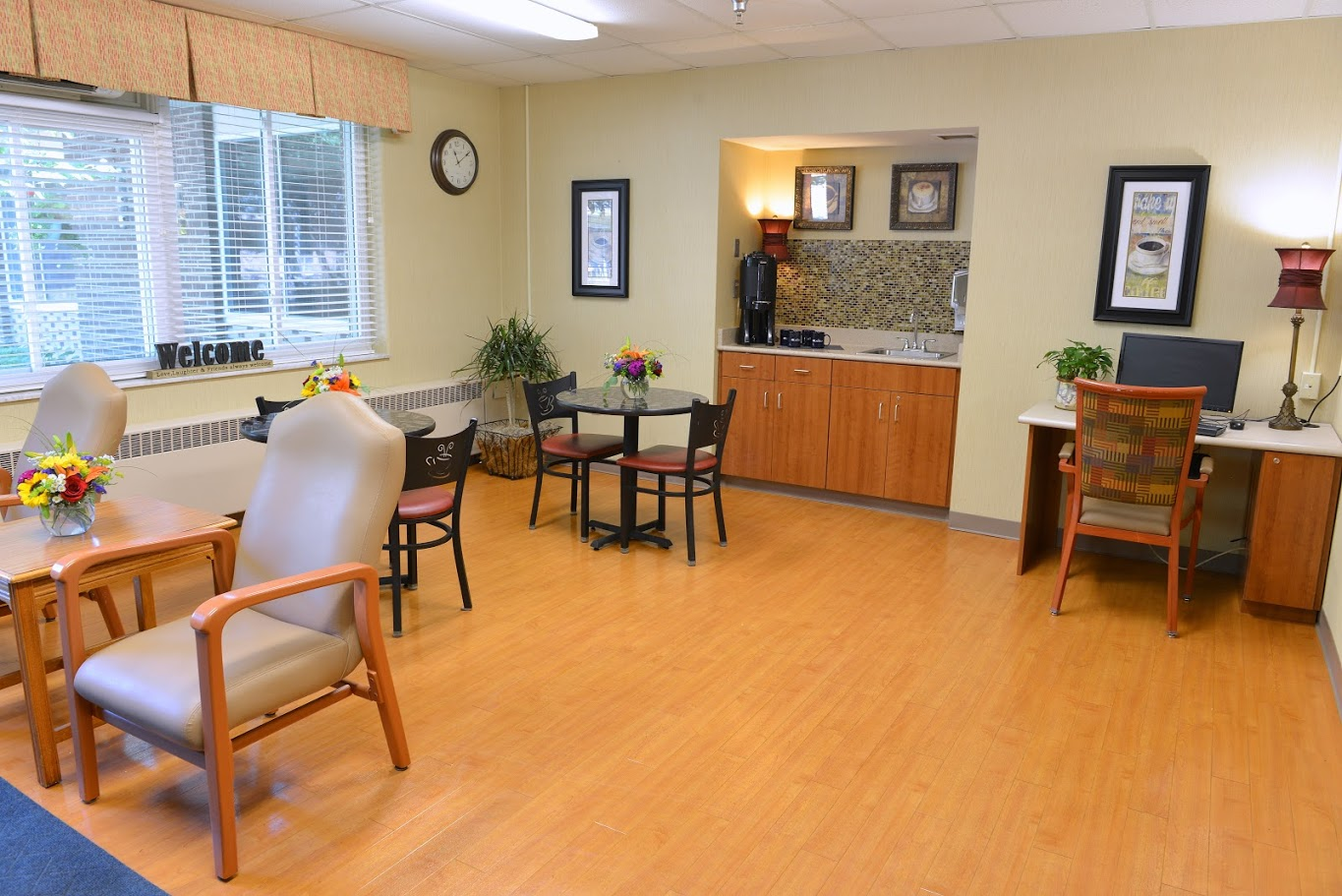 The laurels of hudsonville a skilled nursing for Activity room
